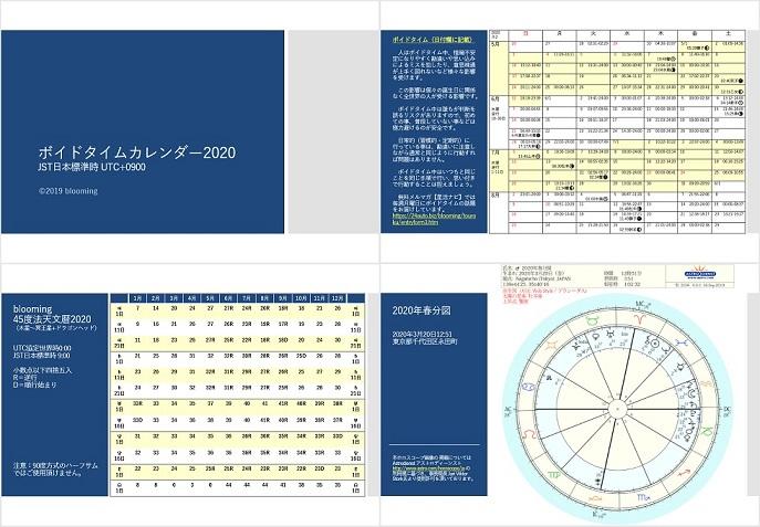 ボイド タイム 2020 2020年新月満月ボイドタイムカレンダー